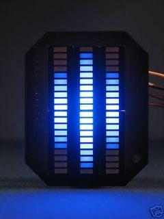 Knight Rider MINI Vbox Display   BLUE KITT LED VU meter