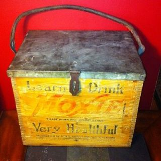 wooden ice box antiques
