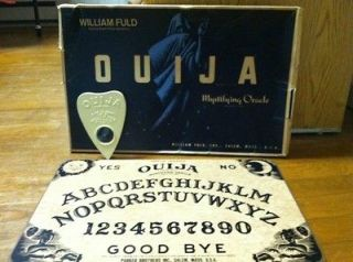 Ouija Board Parker Brothers, Salem, Mass. w/William Fuld Inc., Salem