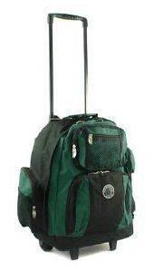 18 Travel Gear Rolling Backpack Travel School Bookbag Laptop Bag