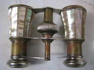 FRENCH CHEVALIER PARIS MOTHER OF PEARL OPERA BINOCULARS