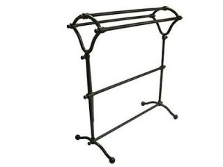 Brass CC2285 Free Standing Y Type Towel Rack Oil Rubbed Bronze