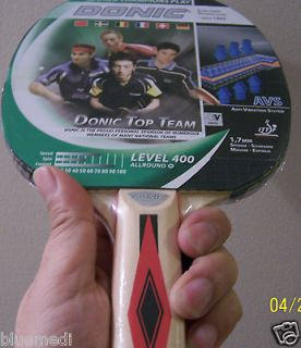 DONIC schildkrot German TopTeam 400 Paddle Table Tennis Ping Pong AVS