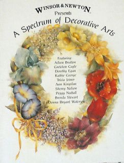 SPECTRUM of DECORATIVE ARTS Artist Combo Painting Pattern Book OOP