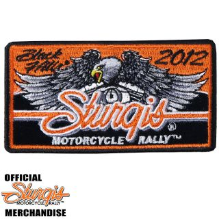 2012 SCREAMING EAGLE RALLY Embroidered Patch Jacket/Vest Biker 1210