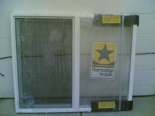 BRAND NEW Nice White VINYL House SLIDER WINDOW 46x38