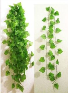 10x90 Grape Leaf Vines Artificial Flower Hanging Wedding Garland Arch