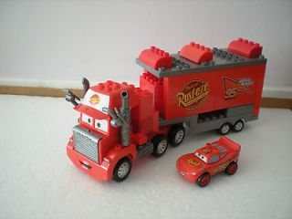 Mega Bloks Disney Pixar Cars Mack Truck with McQueen Car