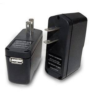 AC/DC To USB Power Charger Adapter For Cell Phone PDA  Digital Cam