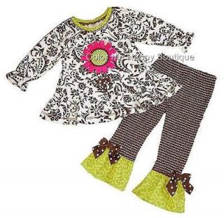 New Girls Boutique Peaches n Cream sz 6 DAISY Top Pant outfit Dress