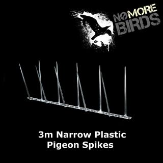 Narrow Plastic Pigeon Spikes/ Bird Spikes 3m
