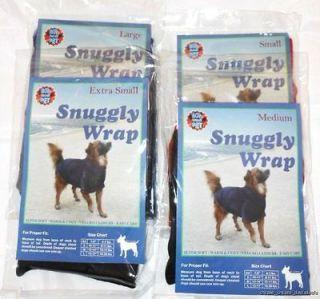 Snuggly Wrap Fleece Dog Winter Coat Jacket Blanket Bow Wow Pet NEW