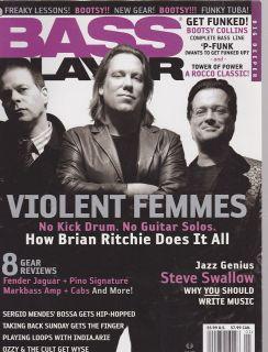 MAY 2006 BASS PLAYER guitar music magazine VIOLENT FEMMES