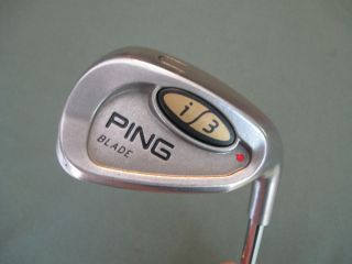 PING i3 BLADE UTILITY WEDGE RED DOT 52* golf club