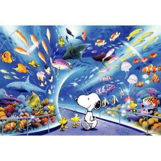 sha Jigsaw Puzzle 1L 404 3D Peanuts Snoopy Aquarium (108 L Pieces