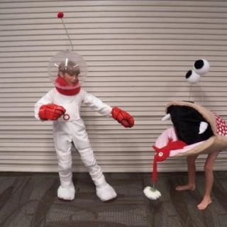 Red and blue Pikmin-The concept is there, but the result ... |Pikmin Halloween