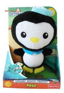 Octonauts   8 Plush Soft Toy   PESO