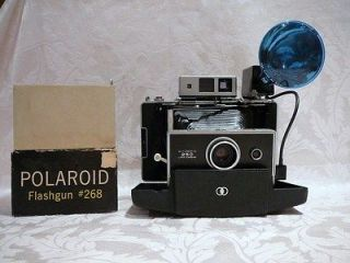 POLAROID AUTOMATIC 250 LAND CAMERA with ZEISS IKON RANGE & VIEW FINDER