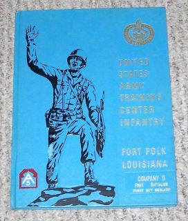 Fort Polk U.S. Army Infantry Training Center Yearbook July Sept