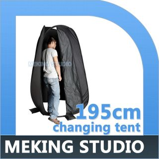 195cm/64 Portable Shower Tent Camping Toilet Privacy Shelter