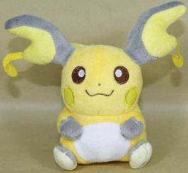 RAICHU 6 (15CM)POKEMON PLUSH TOY CUTE DOLL