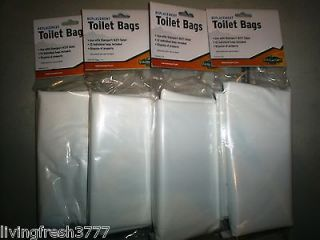 48 Portable Toilet Liner Bags Emergency Disaster Survival Kits Be