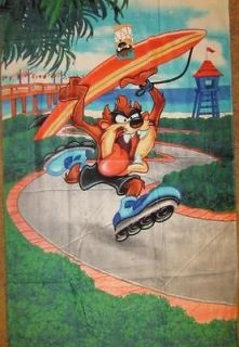 New Licensed Taz Tasmanian Devil Beach Bath Pool Towel Looney Tunes