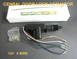 12V 360 Degree CAR Power Door Lock Actuator 5 Wire #OTH7