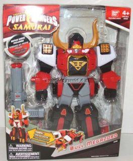 NEW Power Rangers Samurai Deluxe Bull Megazord