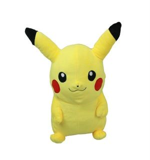 NWT Pokemon Pikachu Plush Backpack (L) 16Authentic