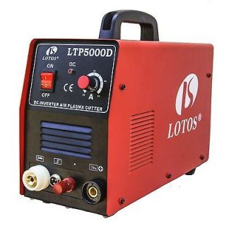 LOTOS LTP5000D PILOT ARC PLASMA CUTTER 110/220VAC & CNC AUTO FEATURE