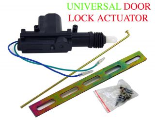 New Aapex UNIVERSAL POWER DOOR LOCK ACTUATOR MOTOR 12 volt 8.8lb Torq