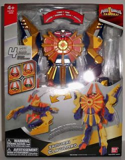 Power Rangers Samurai Clawzord. Claw Zord. DELUXE. BRAND NEW. NIB