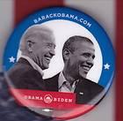 BIDEN JUGATE political campaign button pin pinback president
