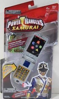 Power Rangers Samurai MORPHER #31593 NIP MEGA LIGHT GOLD MIGHTY
