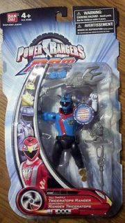 Power Rangers RPM Full Throttle TRICERATOPS Ranger