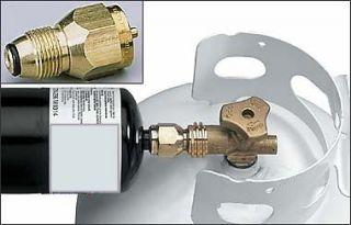 MacCoupler Propane Refill Adaptor Tank to Small Bottle by Mac Coupler