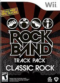 Rock Band Track Pack Classic Rock Wii, 2009