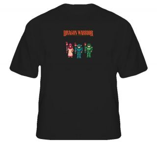 Dragon Warrior Quest NES Retro video game T Shirt