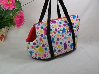 Pretty 13 Heart  Dog Cat Pet Travel Carrier Tote Bag / Purse Great