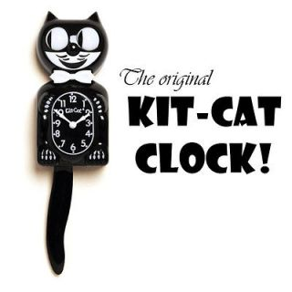 Kit Cat Clock With Moving Eyes And Tail
