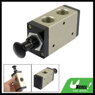 PT Air Inlet 2 Position 3 Way Manual Hand Pull Valve 3R410 15