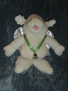 AUTHENTIC 1993 BABY LAMB CHOP ANGEL PUPPET BY SHARI LEWIS