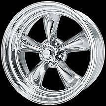American Racing TORQUE THRUST II Wheels Torq 15x7 & 8 Staggered