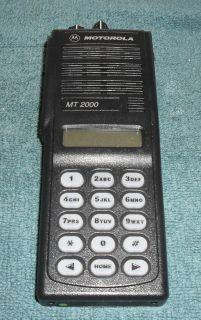 Motorola MT2000 UHF Narrow Band Compliant Radio 4W 160 chweak/bad