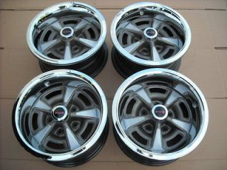 PONTIAC GTO FIREBIRD ORIGINAL 15X7 RALLY II WHEEL RIM SET PMD CENTER