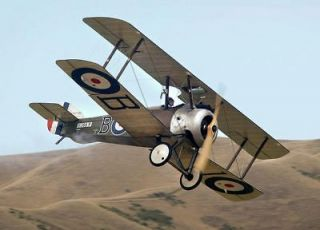 Scale SOPWITH CAMEL Plans & Patterns. 71 in. wing span. PLEASE READ