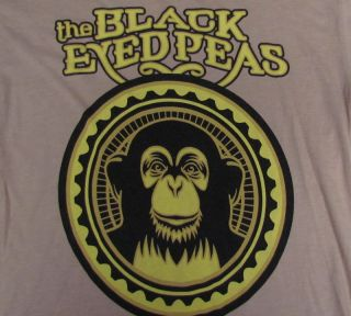 BLACK EYED PEAS T Shirt SIZE S Small Pop Music Logo Concert Tour