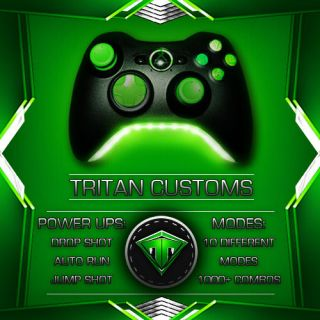 XBOX 360 RAPID FIRE CONTROLLER TRITEN LED ELITE ANTI RECOIL AUTO