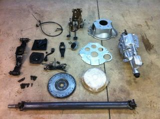 Ford Mustang Complete AOD  T5 Transmission Swap World Class REBUILT 5